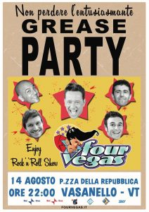 four vegas grease party
